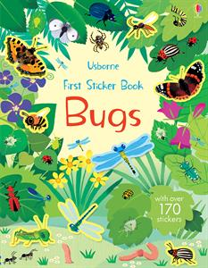 First Sticker Book Bugs Ages 4+