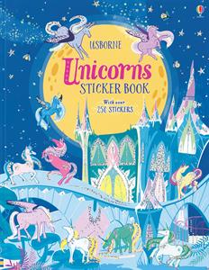 Unicorn Sticker Book Ages 5+