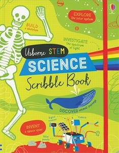 Science scribble Book 8+