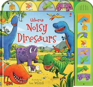 Noisy Dinosaurs Book - Ages