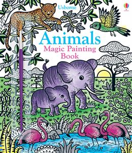 Animals Magic Painting Book 5+