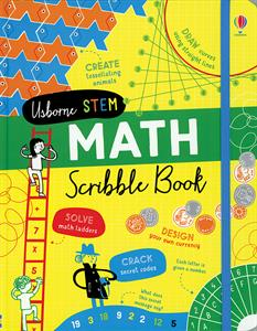 Math Scribble Book 8+