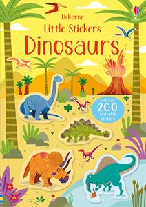 Little Stickers Dinosaurs Ages 3+