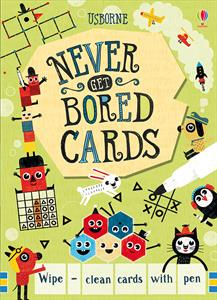 Never get bored cards - wipe clean 6+