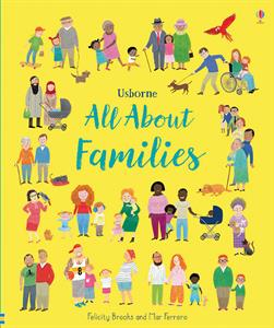 All about Families Usborne Book 3+