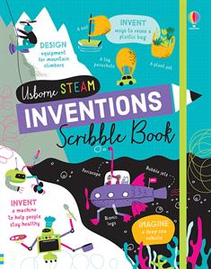 Invention Scribble Book 8+