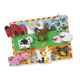 Farm Animals Chunky Puzzle 2+