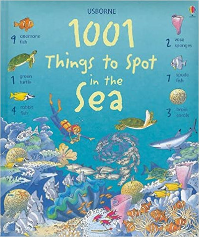 1001 Things to Spot in the Sea - Ages 3+