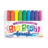 Big Bright Brush Markers 3+