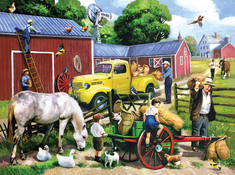 Summer Farm Days 1000 pc. Jigsaw Puzzle 10+