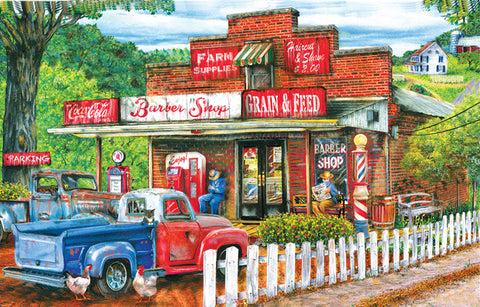 Saturday Morning at the Shop 1000 pc Jigsaw Puzzle 10+