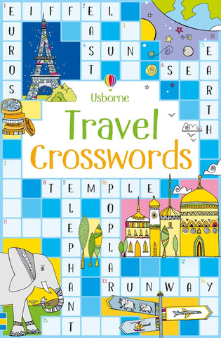 Travel Crosswords Usborne Books ages 8+