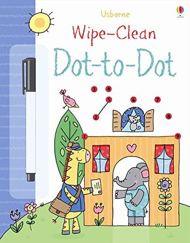 Wipe-Clean Dot To Dots