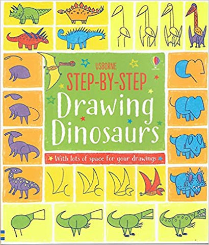 Step By Step Drawing Dinosaurs