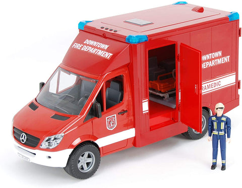 FIRE DEPARTMENT PARAMEDIC W/DR