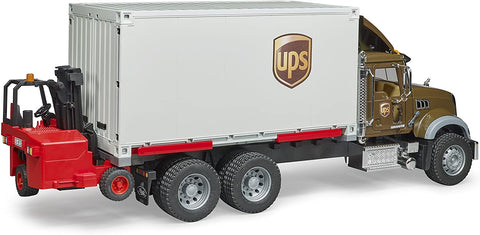 MACK GRANITE UPS LOGISTICS TRUCK