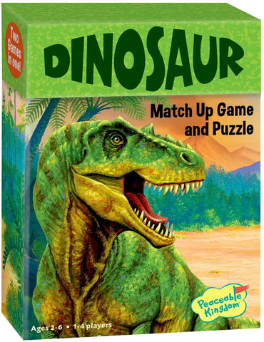 Dinosaur Match up Game and Puzzle 2+