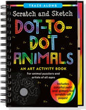 Dot-To-Dot Animals Scratch & Sketch