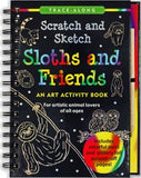 Sloths and Friends Scratch and Sketch