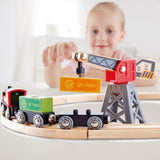 Hape Delivery Loop Train Set Ages 3+