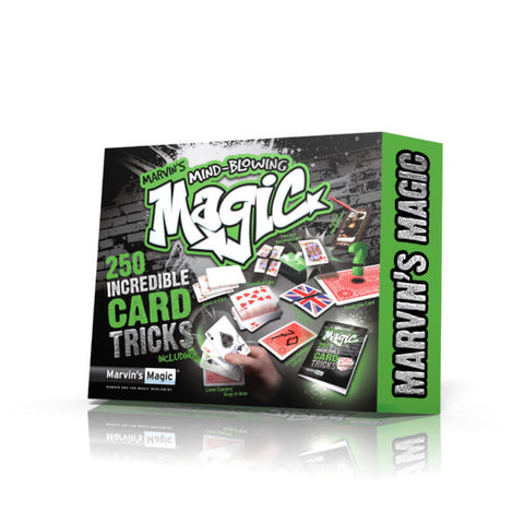 Marvin's Mind-Blowing Magic 250 Incredible Card Tricks