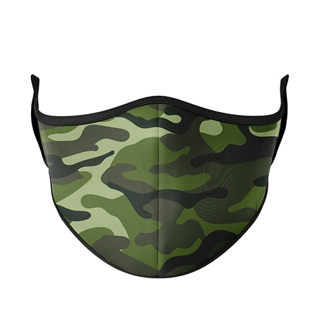 A21 KIDS FACE MASK Green Camo - Ages 3-7