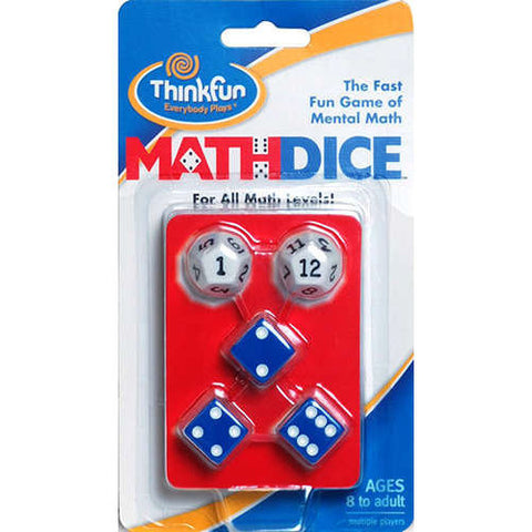 Math Dice - CR Toys