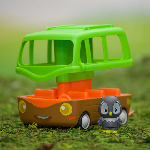 Timber Tots Adventure Bus - CR Toys