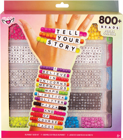 Tell Your Story Alphabet Bead Kit