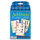 ADDITION FLASH CARDS 4+
