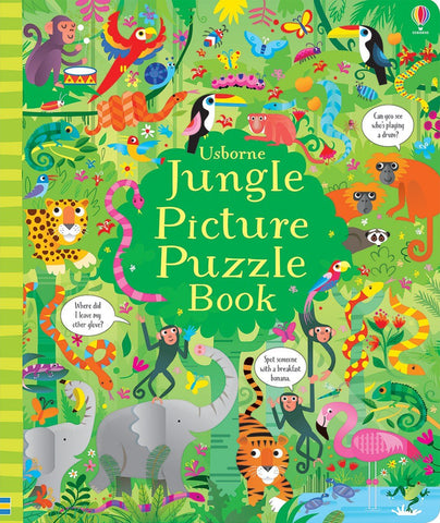 Jungle Picture puzzle Book Ages 4+