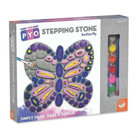 Paint Your Own Stepping Stone-Butterfly - CR Toys