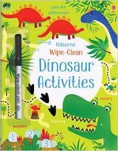 Wipe-Clean Dinosaur Activities - CR Toys