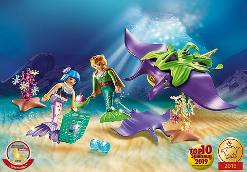 Magic: Pearl Collectors With Manta Ray - CR Toys