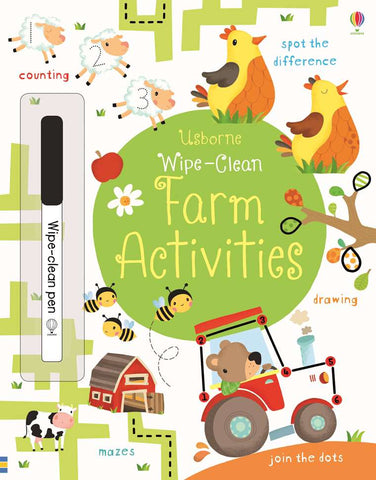 Wipe-Clean Farm Activities - CR Toys