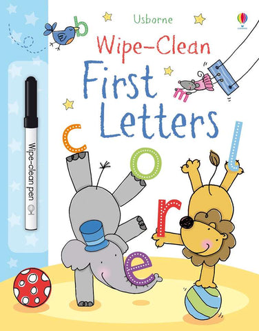 Wipe-Clean First Letters - CR Toys