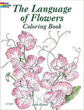 The Language of Flowers Coloring Book - CR Toys