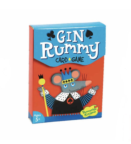 Gin Rummy Card Game 5+