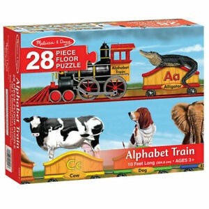 Alphabet Train - 28 Pieces - CR Toys