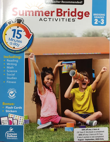 Summer Bridge Activites 2-3 - CR Toys