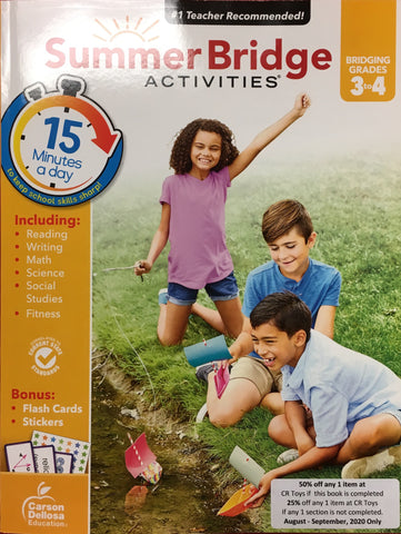 Summer Bridge Activities 3-4 - CR Toys
