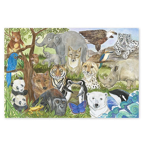 Endangered Species - 48 Pieces - CR Toys