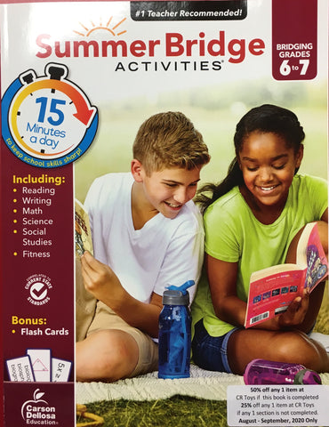 Summer Bridge Activities 6-7 - CR Toys