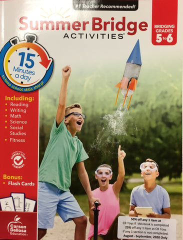 Summer Bridge Activities 5-6 - CR Toys