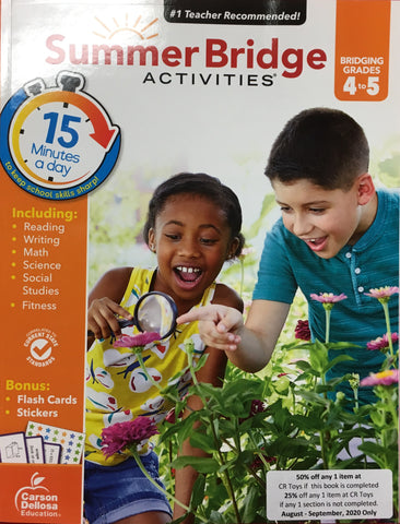 Summer Bridge Activities 4-5 - CR Toys