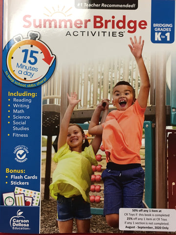 Summer Bridge Activities K-1 - CR Toys
