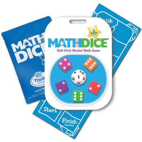 Math Dice Jr. - CR Toys