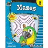 Teacher Created Resources: Kindergarten Mazes
