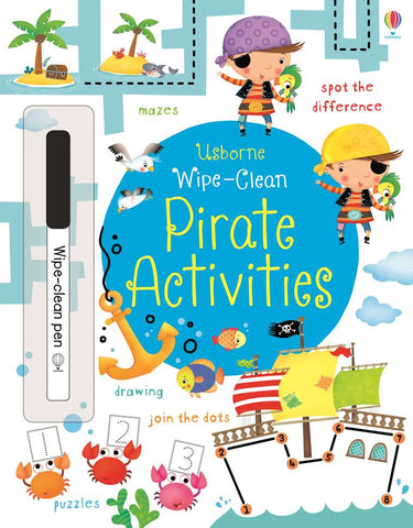 Wipe-Clean Pirate Activities - CR Toys