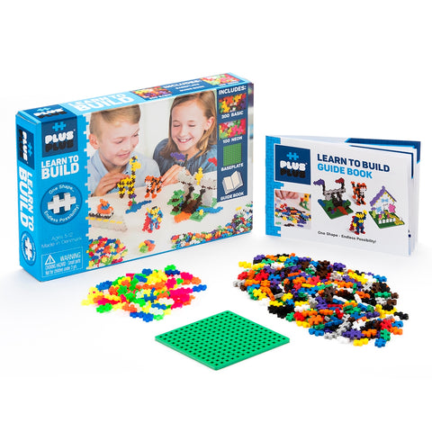 Plus Plus Learn to Build - CR Toys